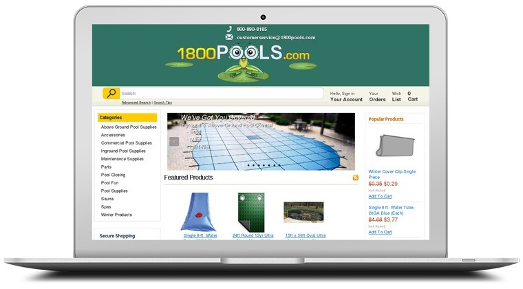 1 800 Pools Coupons
