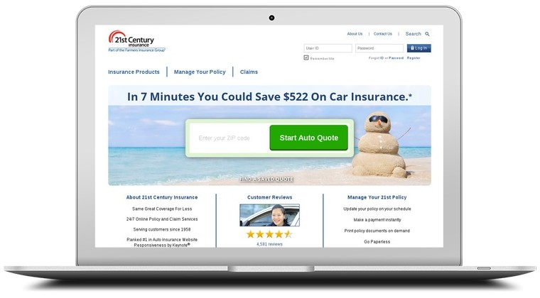 21st Century Insurance Coupons