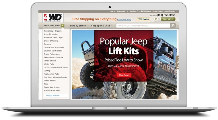 4WD Coupons