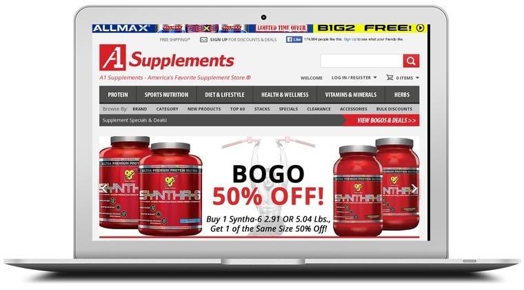 A1 Supplements Coupons