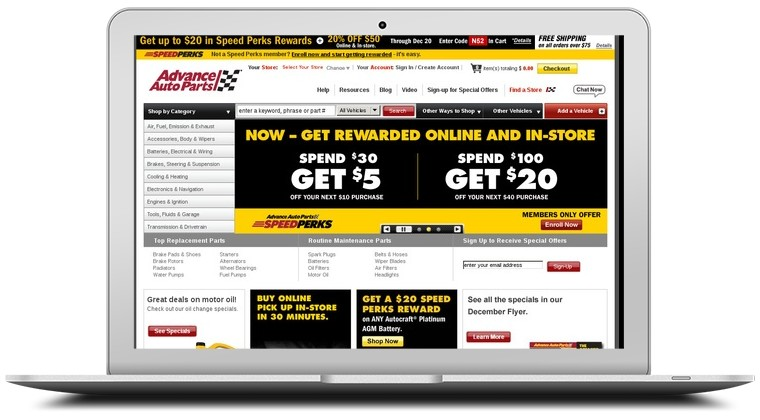 Advance Auto Parts Coupons
