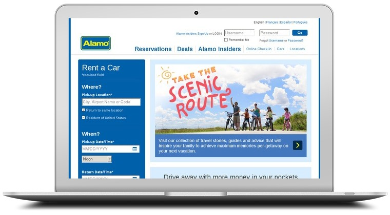 Alamo Rent A Car Coupons
