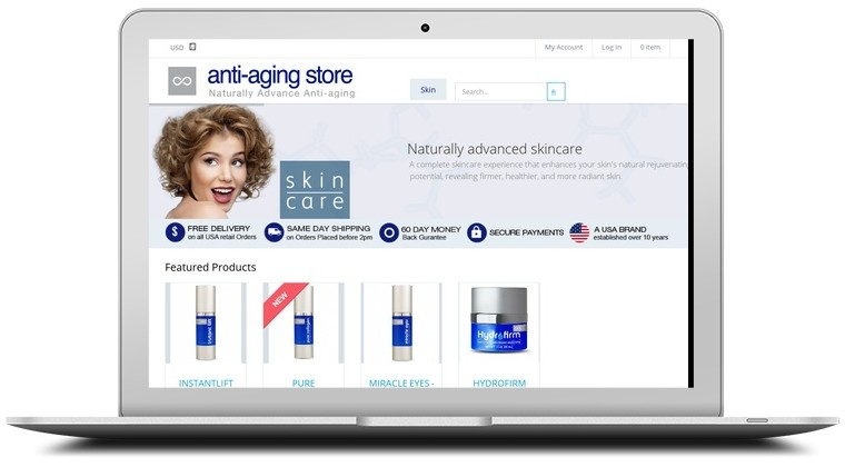 Anti-Aging Store Coupons