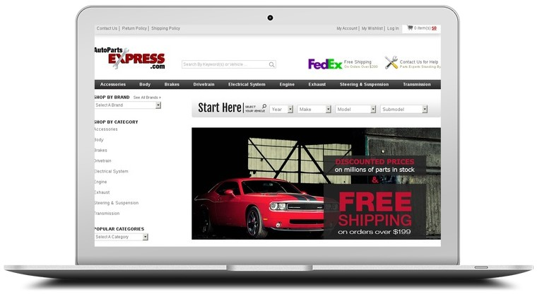 Auto Parts Express Coupons