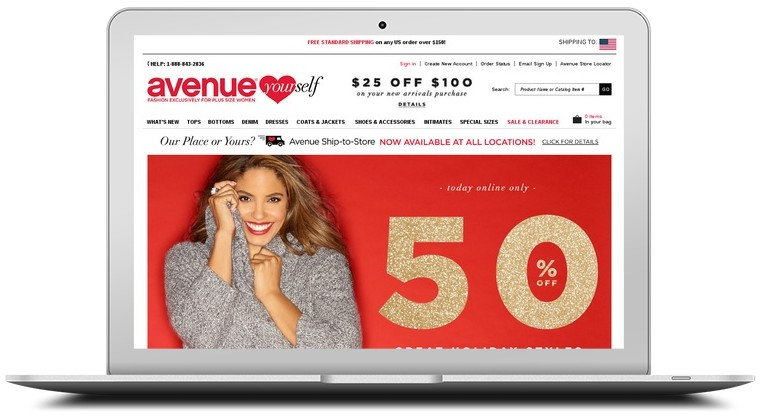 Avenue Clothing Coupons