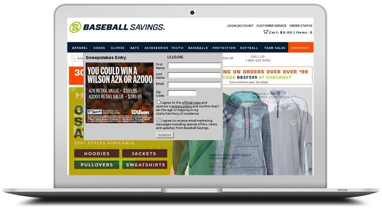 Baseball Savings Coupons