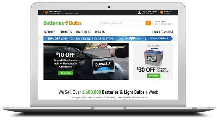batteries bulbs coupons