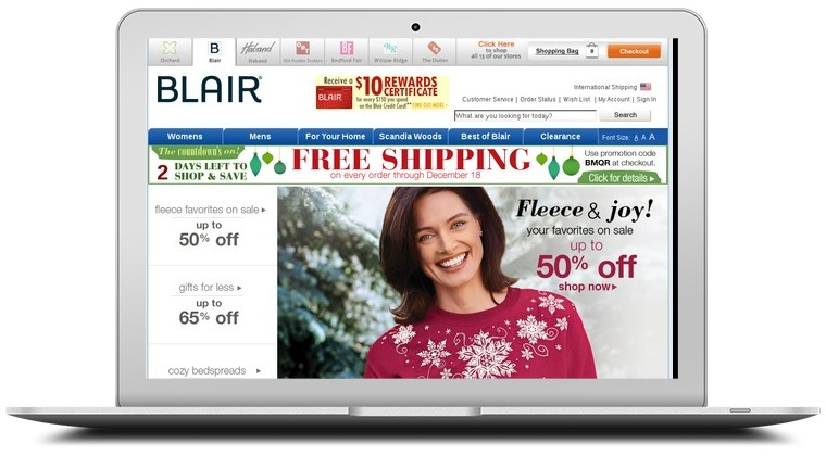 Blair Clothing Coupons