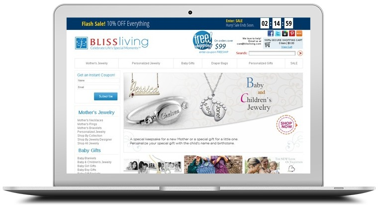 Bliss Living Coupons