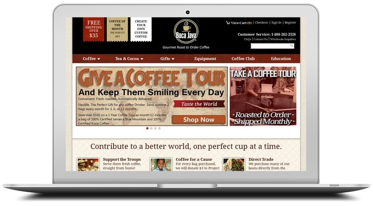 Boca Java Coffee Coupons