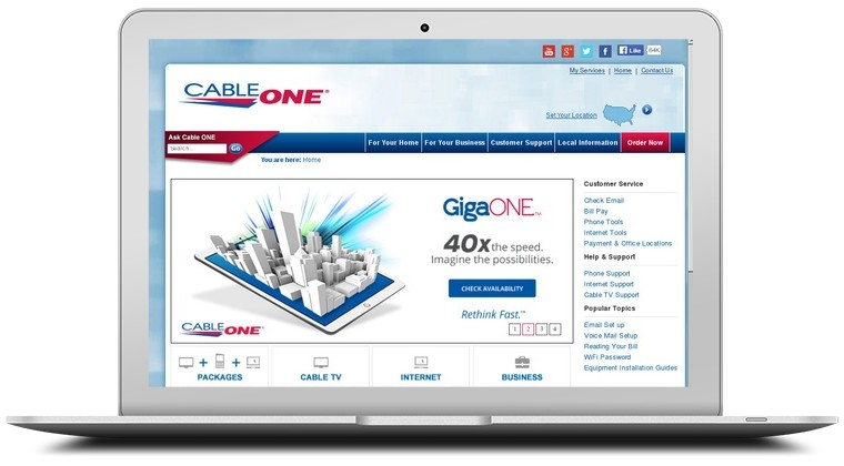 Cable One Internet Coupons