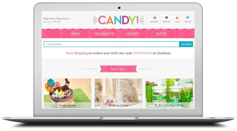 Candy.com Coupons