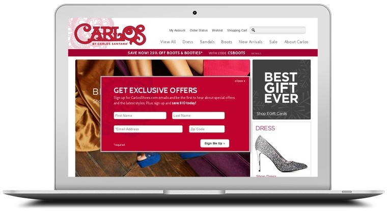 Carlos Shoes Coupons