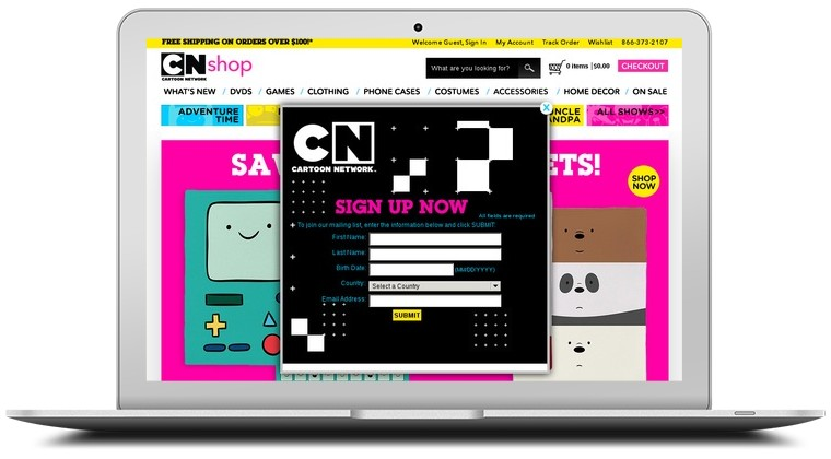 Cartoon Network Shop Coupons