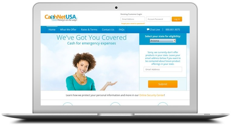 CashNet USA Coupons