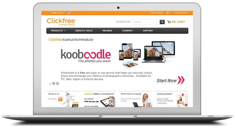 Clickfree Automatic Backup Coupons