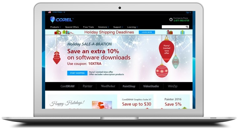 Corel Software Coupons