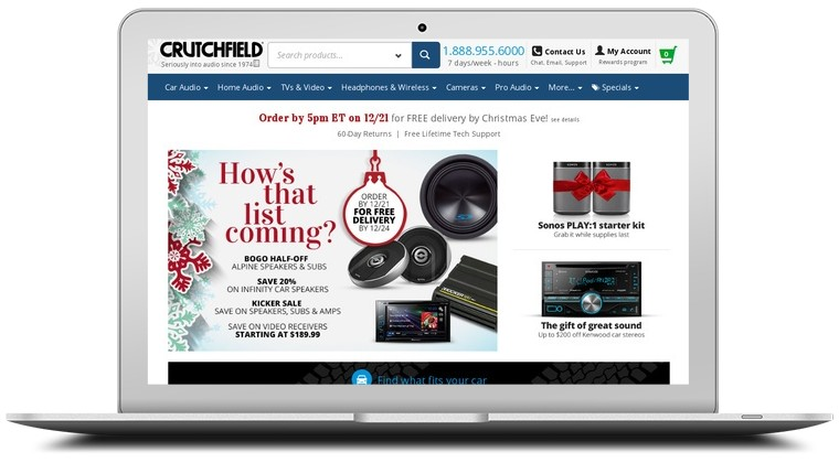 Crutchfield coupon code