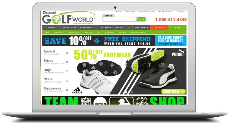 Discount Golf World Coupons