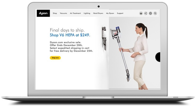 Dyson Vacuum Cleaners Coupons