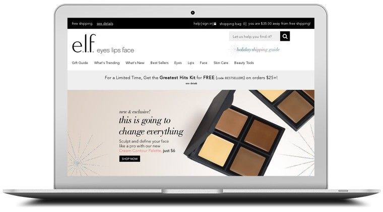 E.L.F. Cosmetics Coupons