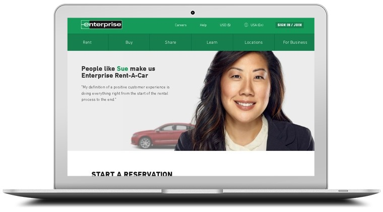Enterprise Car Rentals Coupons