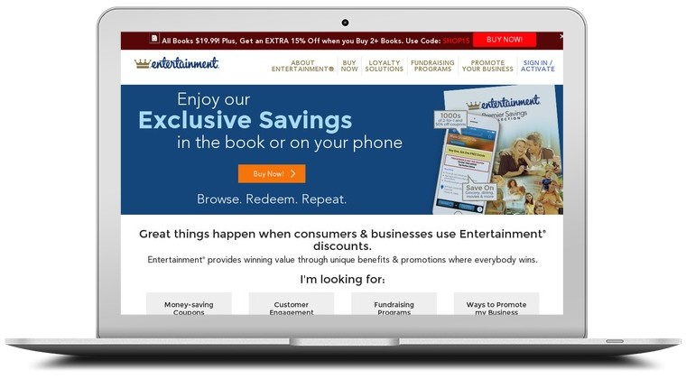 Entertainment Coupon Book Coupons