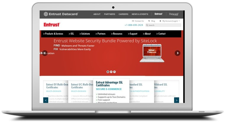 Entrust Digital Certificates Coupons