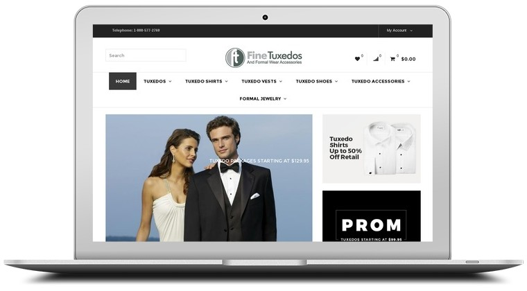 Fine Tuxedos Coupons