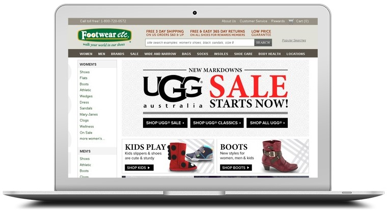 Footwear Etc. Coupons