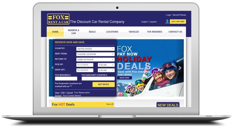 Fox Car Rentals Coupons
