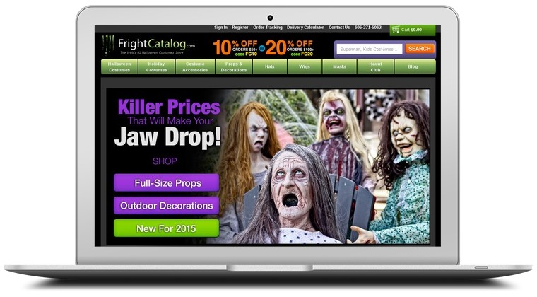 Fright Catalog Coupons