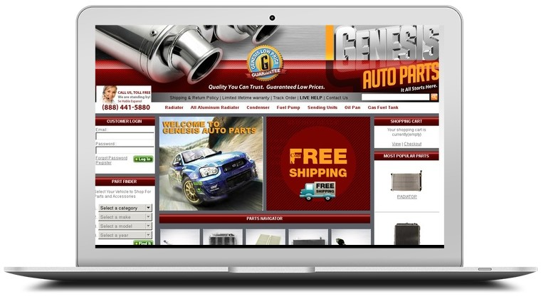 Genesis Auto Parts Coupons