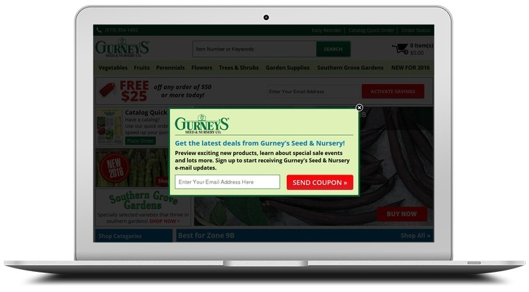Gurneys Seed and Nursery Coupons