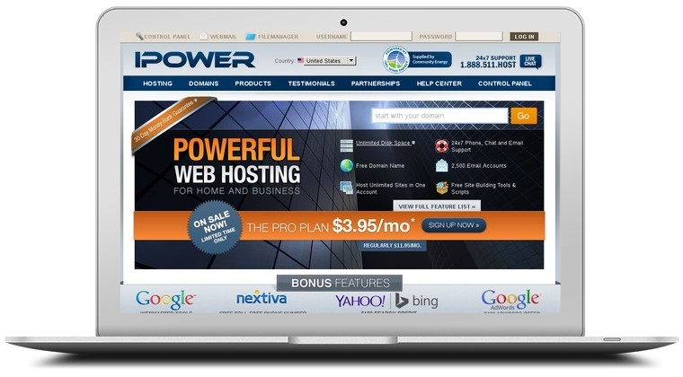 iPowerWeb Coupons