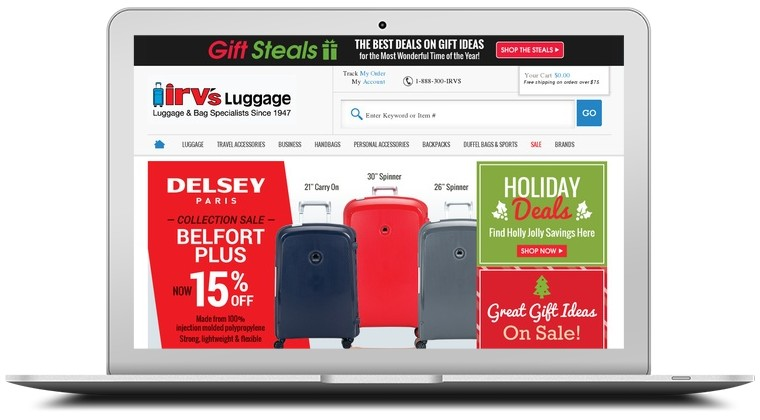 Irvs Luggage Coupons