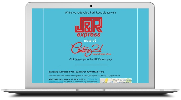 J and R Music and Computer World Coupons