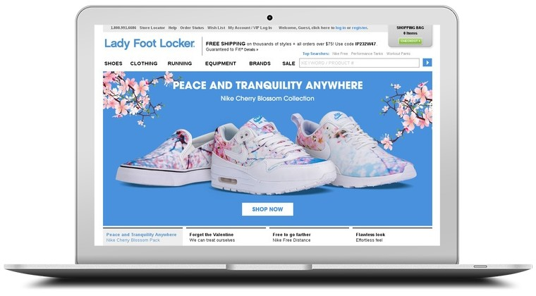 Lady Foot Locker Coupons