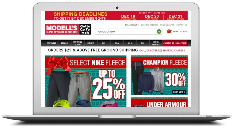 Modells Sporting Goods Coupons