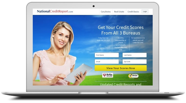 National Credit Report Coupons