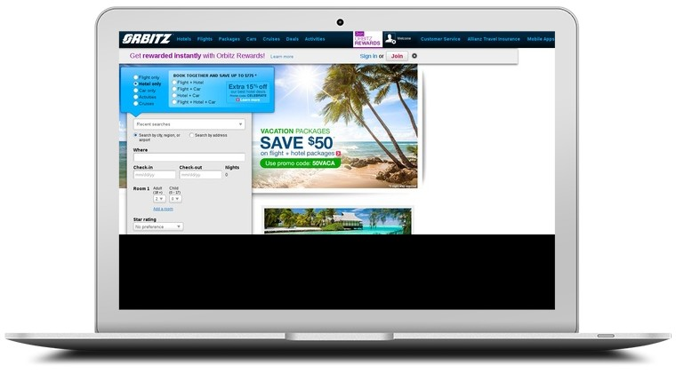 Orbitz Coupons & Orbitz com Coupon Codes