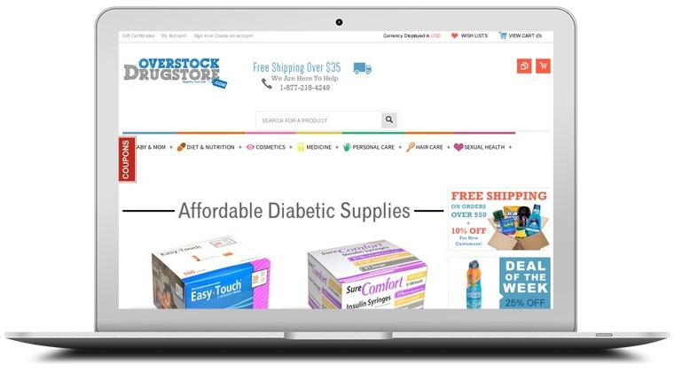 For Overstock Drugstore we currently have 18 coupons and 0 deals. Our users can save with our coupons on average about $ Todays best offer is 10% Off Sitewide. If you can't find a coupon or a deal for you product then sign up for alerts and you will get updates on every new coupon added for Overstock Drugstore.