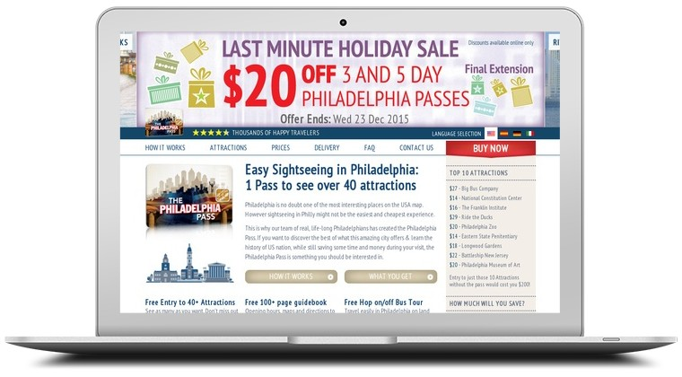 Philadelphia Pass Coupons
