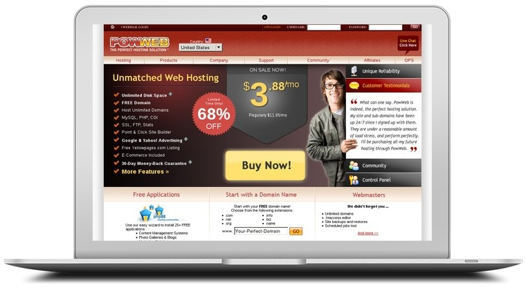 PowWeb Coupons