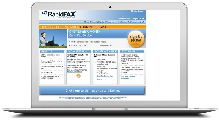 Rapid FAX Coupons