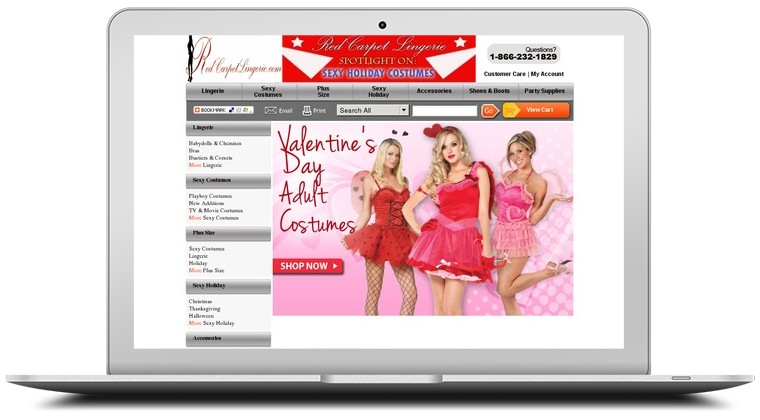 Red Carpet Lingerie Coupons