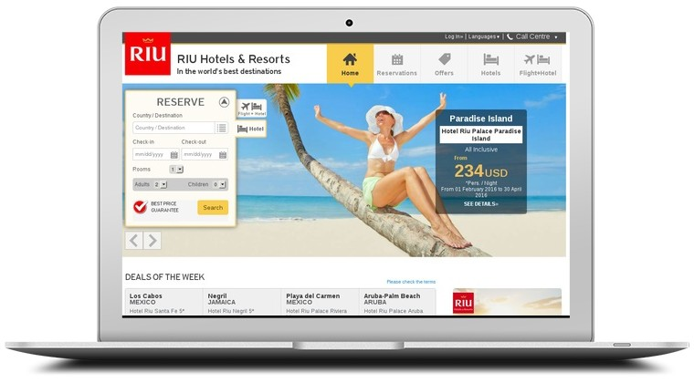 Riu Hotels Coupons