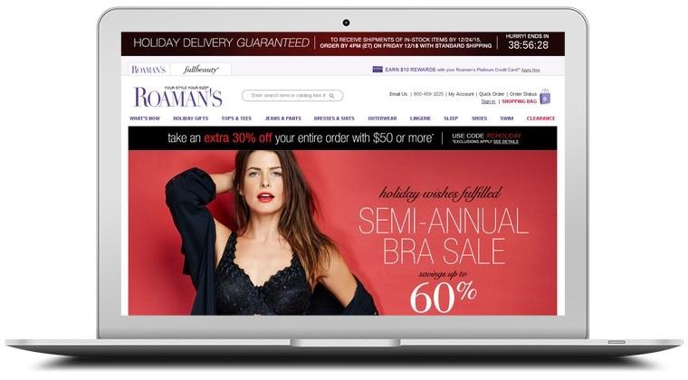 Roamans.com coupon code