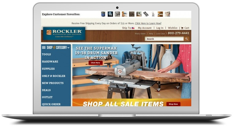 Rockler Woodworking and Hardware Coupons