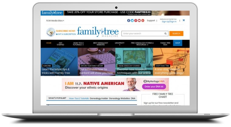 Shop Family Tree Coupons